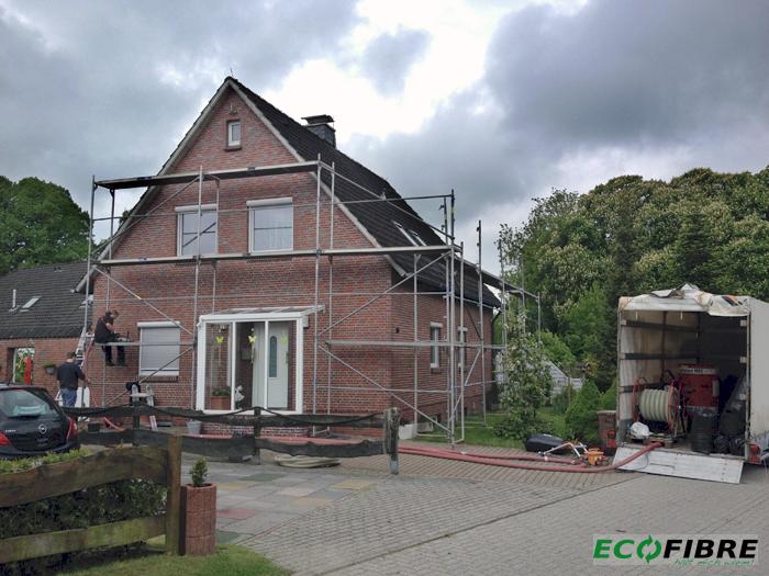 Kerndämmung Einfamilienhaus Ostfriesland Jever