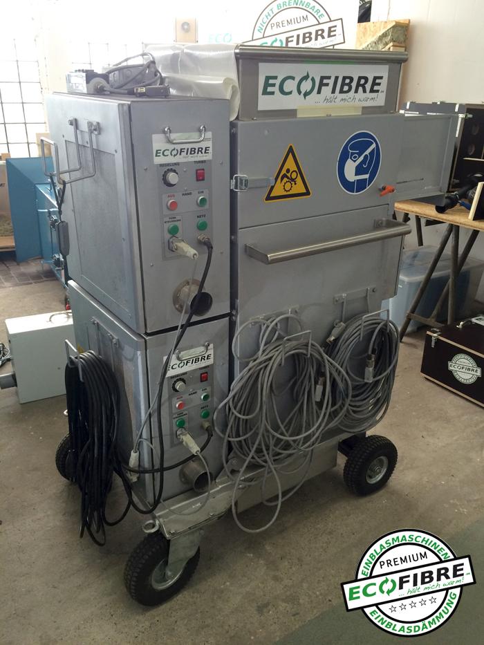 gebrauchte ISO Plus Einblasmaschine